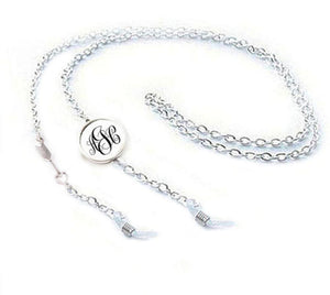 Silver Arrow Eyeglass Chain Holder, New - Jewelrylized.com
