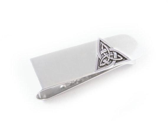 Triquetra Celtic Money Clip - Jewelrylized.com