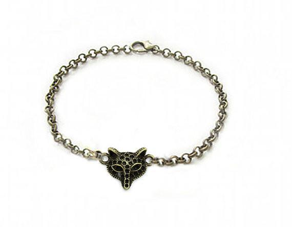 Bronze Fox Bracelet - Jewelrylized