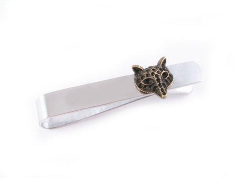 Two Tone Fox Tie Clip, Jewelrylized