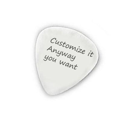 Custom Hand Stamped Guitar Pick - Jewelrylized