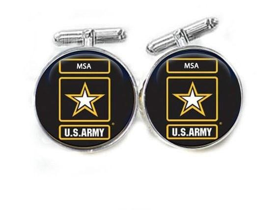 Army Military Cufflinks, Personalized cufflinks - Jewelrylized  - 1
