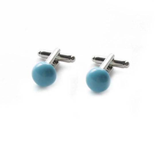 Turquoise Cufflinks - Jewelrylized  - 1