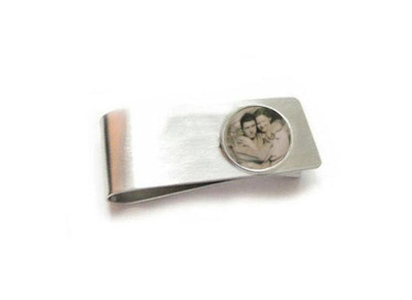 Personalized Photo Money Clip - Jewelrylized.com