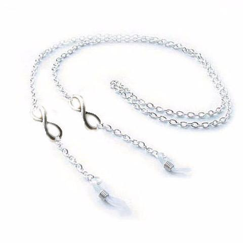 Infinity Eyeglass Chain Holder, Eyeglass lanyard reading glasses chain - Jewelrylized.com