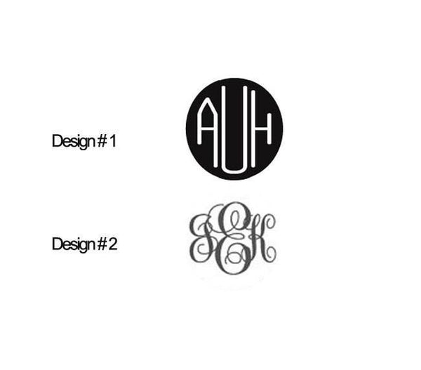 Monogram Personalized Earrings, Necklace, Bracelet, Ring - Jewelrylized.com