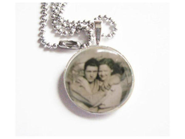 Your Photo Necklace, Personalized  Customize Picture Necklace - Jewelrylized  - 1
