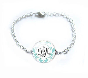 Personalized  Monogram Initial Bracelet - Jewelrylized.com