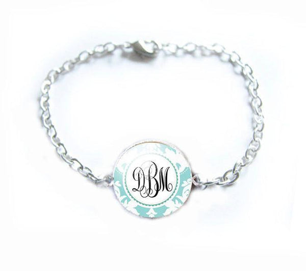 Personalized  Monogram Initial Bracelet - Jewelrylized  - 1