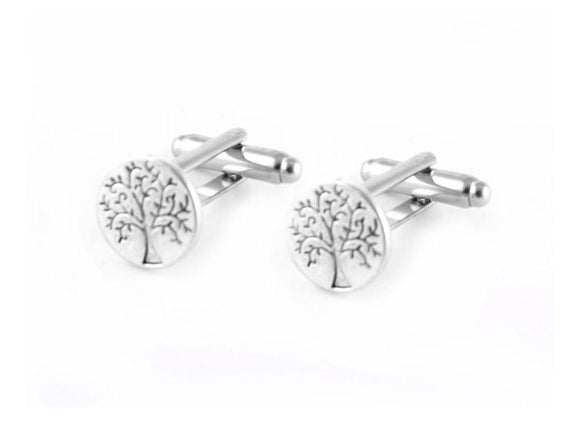 Tree Cufflinks, Tree of Life Cuff Links - Jewelrylized.com