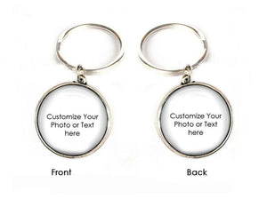 Personalized 2 Side Keychain, Make it anyway you want Keychain - Jewelrylized.com