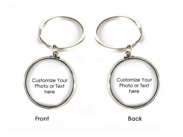 Personalized 2 Side Keychain, Make it anyway you want Keychain - Jewelrylized  - 1