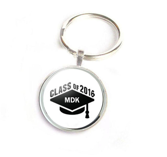 Graduation Handcrafted Keychain - Jewelrylized.com