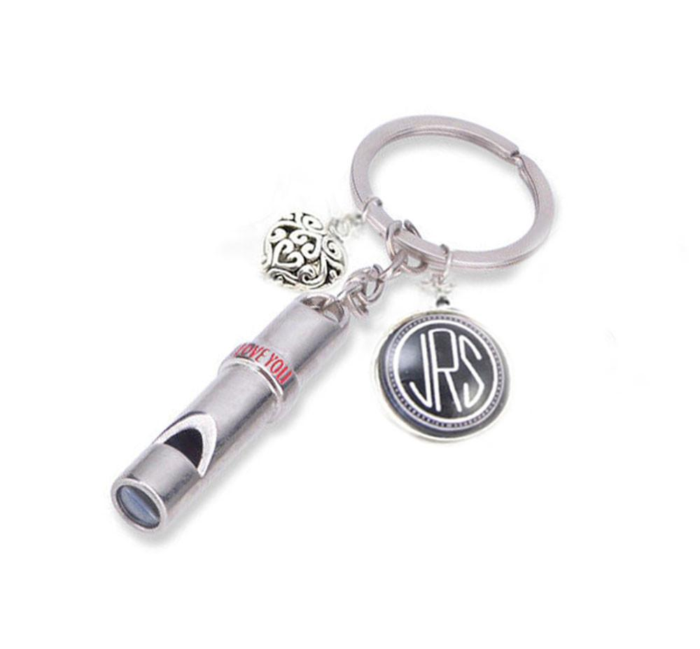 Love You Whistle Personal Protection Keychain - Jewelrylized.com