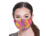 Leaf Face Mask, One Size Fits Most, Cotton
