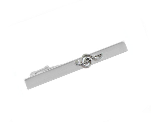 Music Note Tie Clip, Music Tie Bar, Music Lovers Gift - Jewelrylized.com