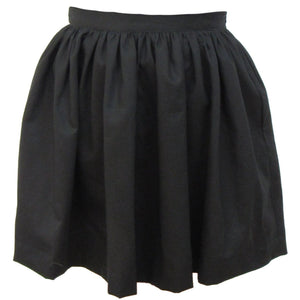 Solid Color Cotton Twill Gathered Skirt (more colors)