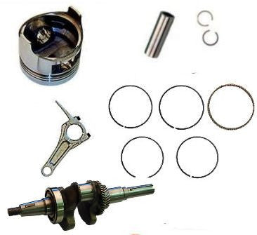 HONDA GX340 ROLLER KIT WITH CRANKSHAFT Pistons CON ROD PIN AND CLIPS GX 340