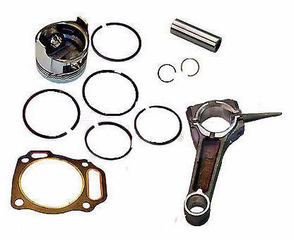 Honda GX200 6.5hp PISTON & RING & CON ROD & HEAD GASKET