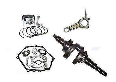 HONDA GX390 GENERATOR ROLLER KIT WITH TAPERED CRANKSHAFT PISTON RINGS CON ROD