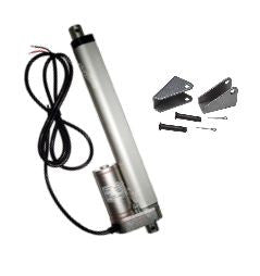 "Heavy Duty 18"" Linear Actuator with Bracket Stroke 12 Volt DC 200 Pound Max Lift"