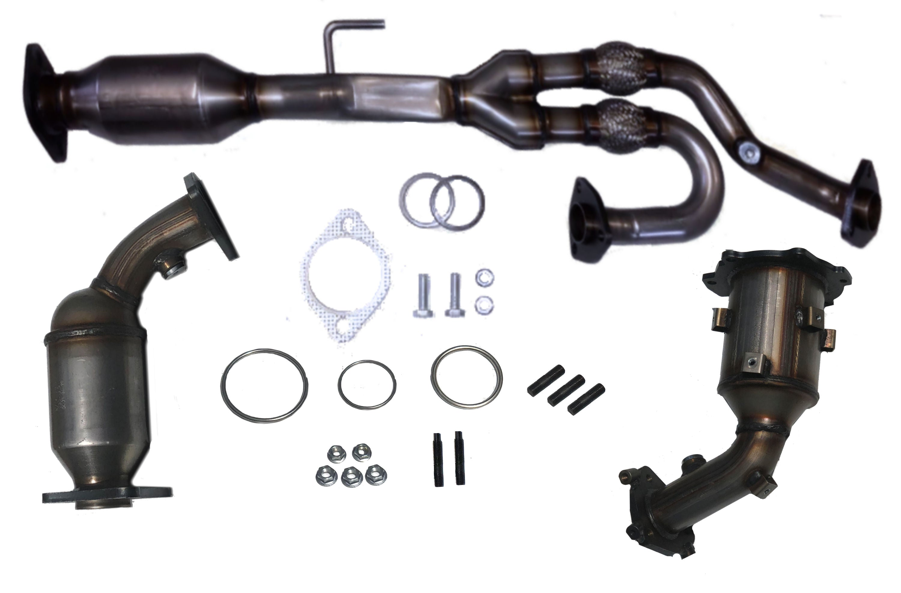 Fits 2003 2004 2005 2006 2007 Nissan Murano 3.5L V6 Catalytic Converters