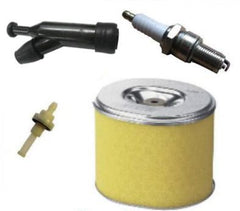 HONDA GX160 SERVICE KIT SPARK PLUG AIR FILTER SPARK PLUG CAP FUEL PETCOCK 5.5HP