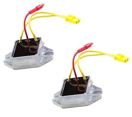 2 Pack Voltage Regulator Briggs & Stratton New 393374 394890 797182 691185 New