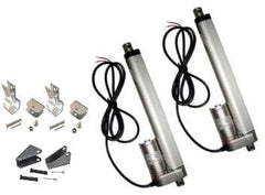 "2 Heavy Duty 8"" Linear Actuator w/Tilt  & Mounting Brackets 12V 225lbs Max Pair - AE-Power"