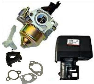 Honda GX390 13HP Carburetor, Air Box and Gaskets Honda 13 HP Gasoline Engines