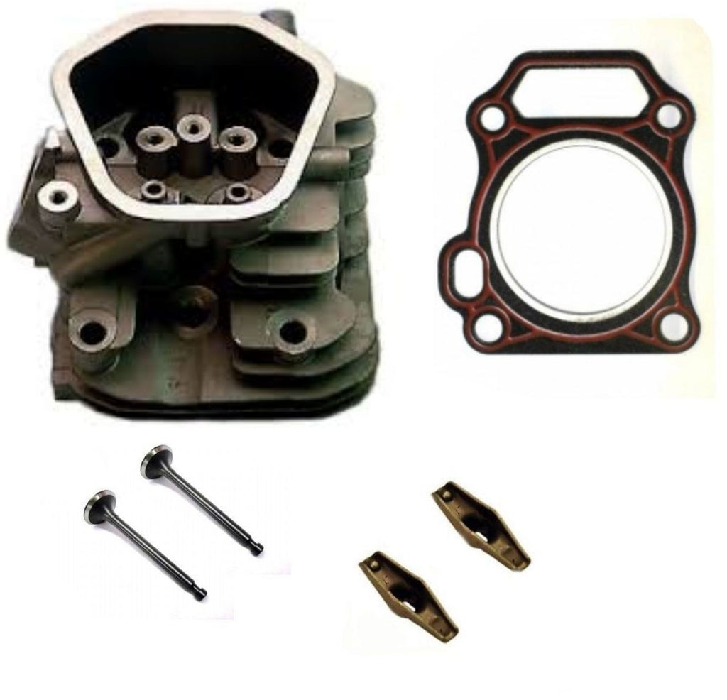 New Honda GX200 Rockers Cylinder Head Kit Inlet & Exhaust Valves Head Gasket