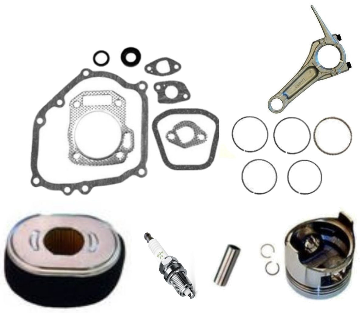 Honda GX200 6.5 hp ENGINE OVERHAUL KIT FITS 6.5HP ENG