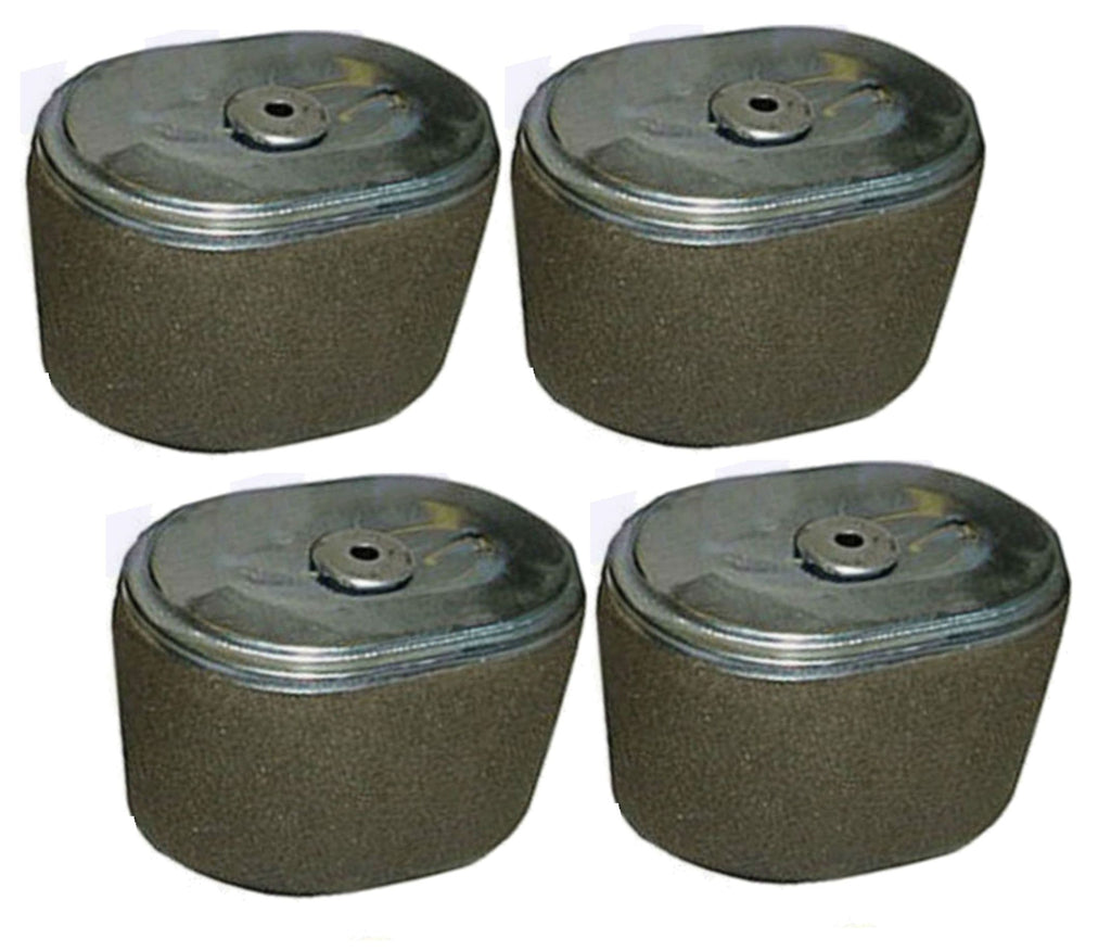 Set Of 4 Fits Honda GX200 6.5 HP Air Filter 6.5HP