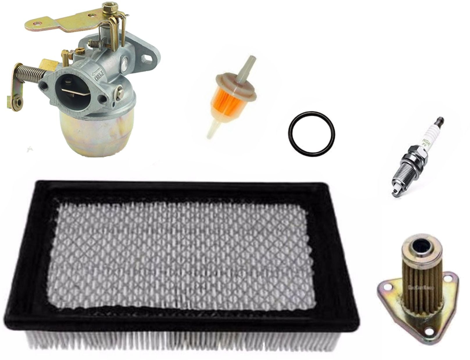 TUNE UP KIT EZGO MARATHON GOLF CART 1991-1994 4 CYCLE GAS CARBURETOR