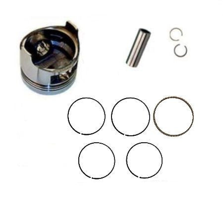 Honda GX270 9.0 HP .50 Mm Over Standard Sized Bore Piston With Clips Pin Rings