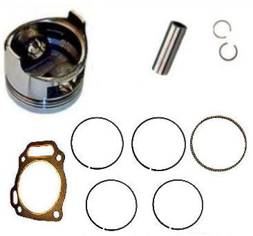 Honda GX270 9 hp PISTON &  RINGS & FREE HEAD GASKET