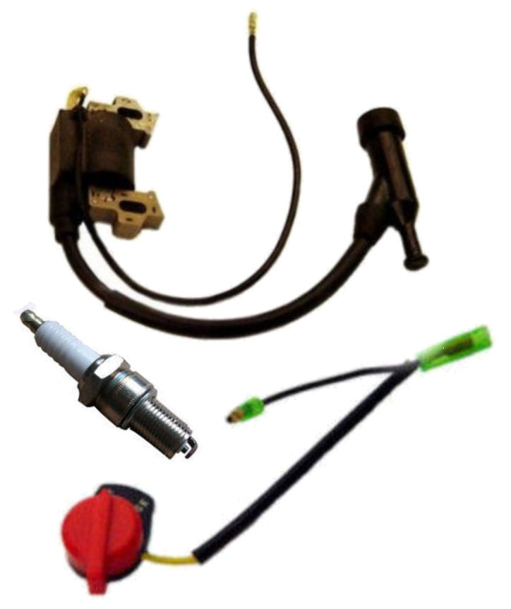 Honda GX200 6 5 HP Ignition Coil, Spark Plug, On/Off Switch for 6 5 hp  Engines