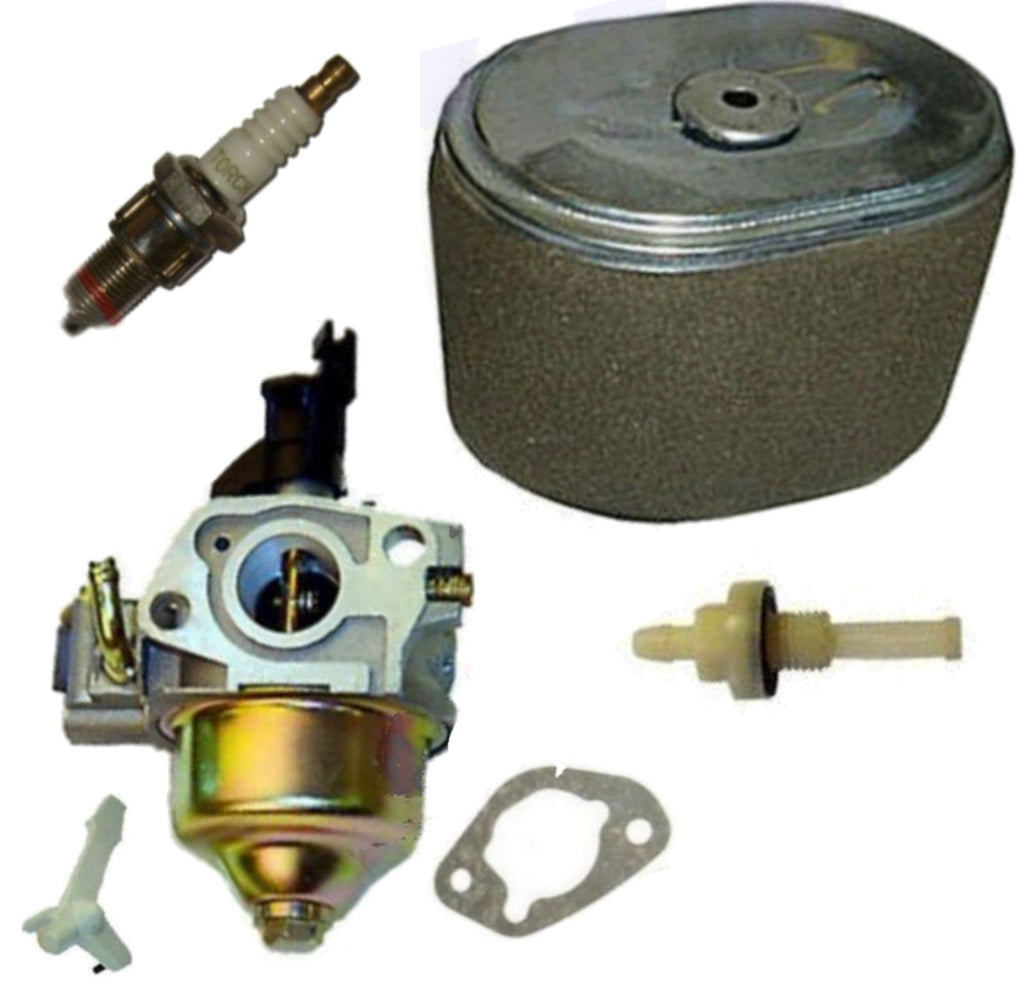 Honda GX200 6.5HP Carburetor & Air Filter Spark Plug Fits Honda Gasoline Engine