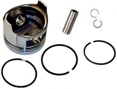 Honda GX240 8.0 HP .50 mm Over Standard Sized Bore Piston with Rings Pin Clips