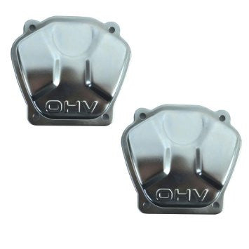 2 NEW OHV Over Head Valve Covers FITS Honda GX610 GX620 GX670 18 20 24 HP V Twin - AE-Power