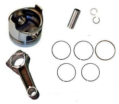 Honda GXV160 Piston & Rings, Pin Clips Conecting Rod New for 5.5 Vertical Engine