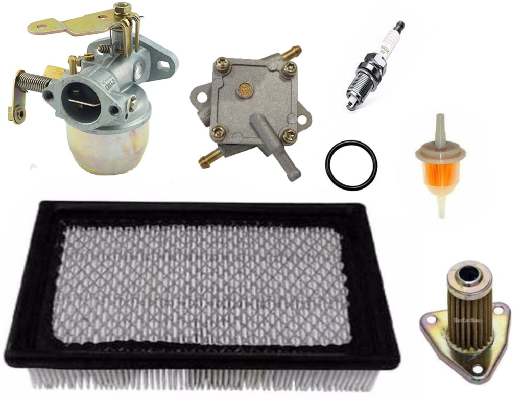 E-Z-GO Marathon Golf Cart Tune Up Kit 1991-1994 4 Cycle Gas Carburetor Fuel Pump
