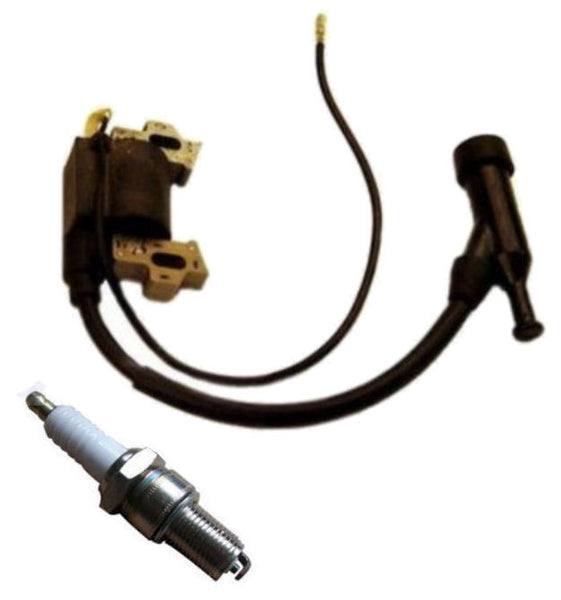 New Honda Gx200 6 5 Hp Ignition Coil And Spark Plug For 6