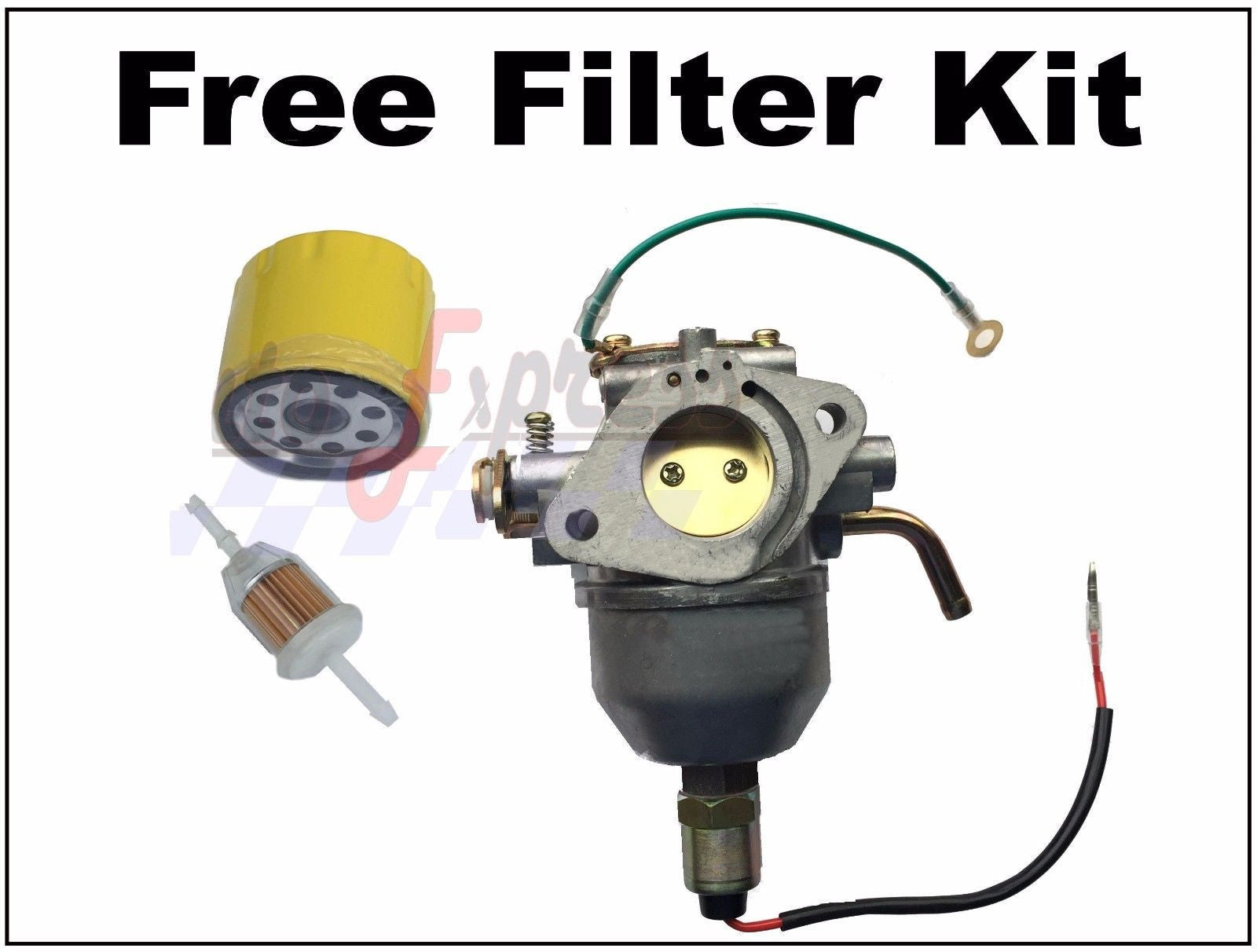 CARBURETOR FITS KOHLER CV740 CV745 ENGINE CARB OIL FUEL