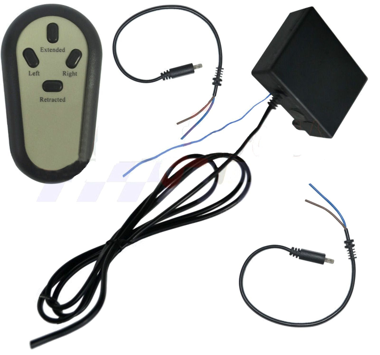 NEW Wireless Remote Control Wiring and Switch for 2 Linear Actuators
