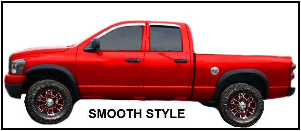 2003-2009 Dodge Ram 3500 Fender Flares Smooth Finish, Set of 4 - AE-Power