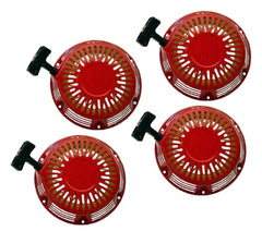 4 Pack Pull Start Red Recoil Covers Honda GX160 & GX200 5.5HP 6.5HP SET PAIR NEW - AE-Power
