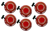 6 Pack Pull Start Red Recoil Covers Honda GX340 & GX390 11HP 13HP SET PACKS NEW - AE-Power