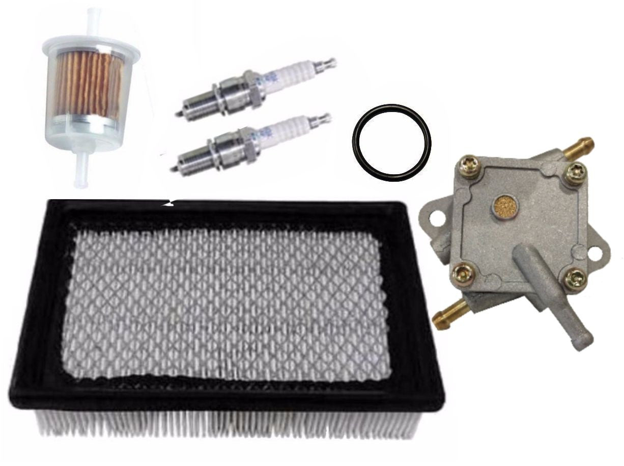 EZGO Pre Medalist Gas Golf Cart 1991-1994 Tune Up Kit Fuel Pump Spark Filter