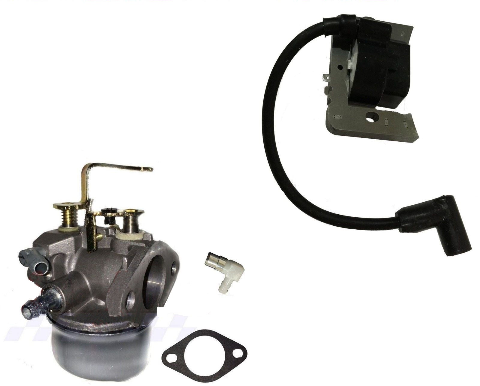 Ignition Coil & Carburetor Tecumseh Fits Tecumseh Model LH358EA - AE-Power